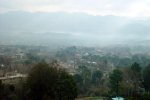 View of Abbottabad from a surrounding mountain